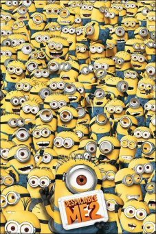 Despicable-Me-2-Many-Minions-Maxi-Poster